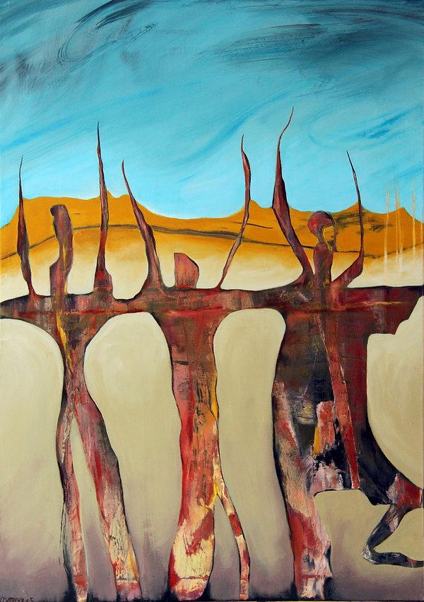 marny-art, Acrylbild auf Leinwand