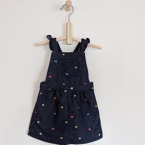 Carter's Ladybug Overall Dress (12M)