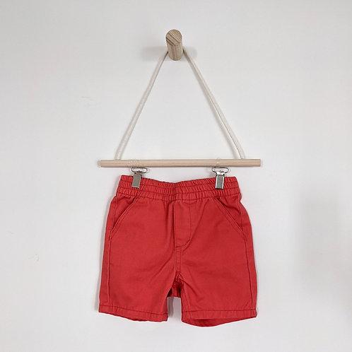 Nautica Red Denim Shorts (6-9m)