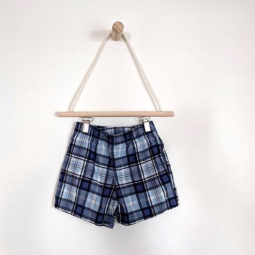 Carter's Lightweight Plaid Shorts (12M)