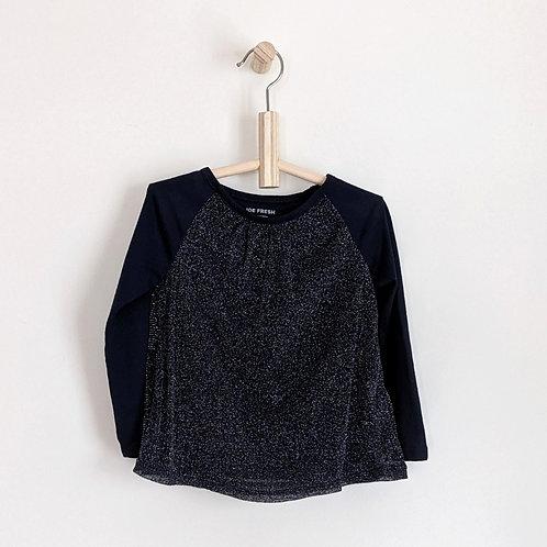 Joe Fresh Long Sleeve Sparkly Shirt (3T)