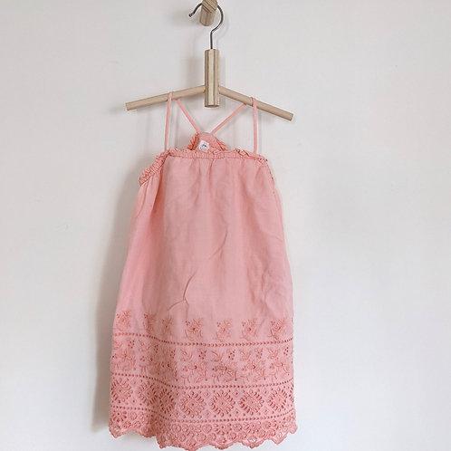 Gap Pink Eyelet Dress (4T)