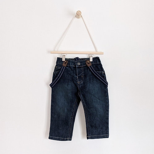 Carter's Jeans with Suspenders (12m)
