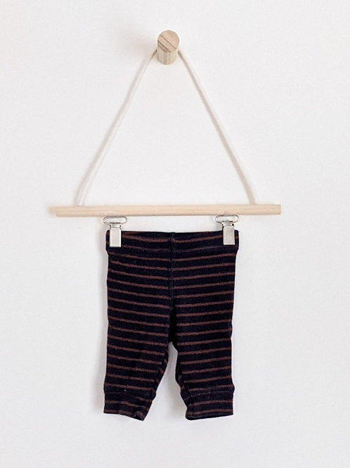 Carter's Striped Leggings (NB)