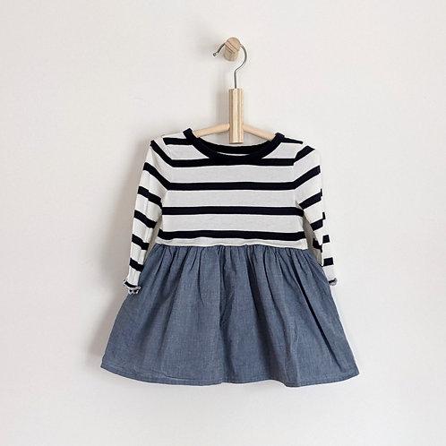 Gap Striped Dress (12-18m)