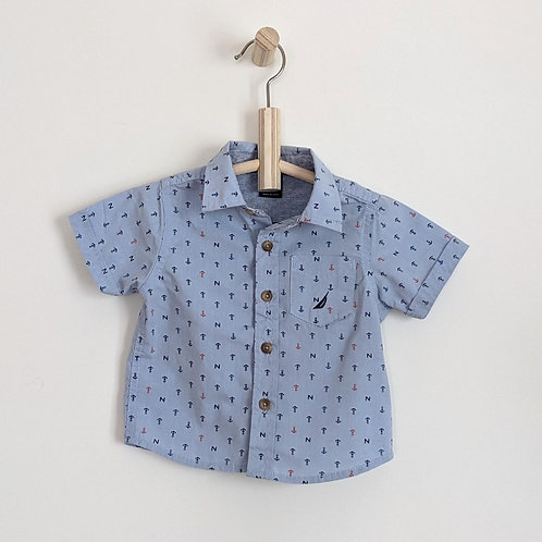 Nautica Button Down Shirt (6-9m)