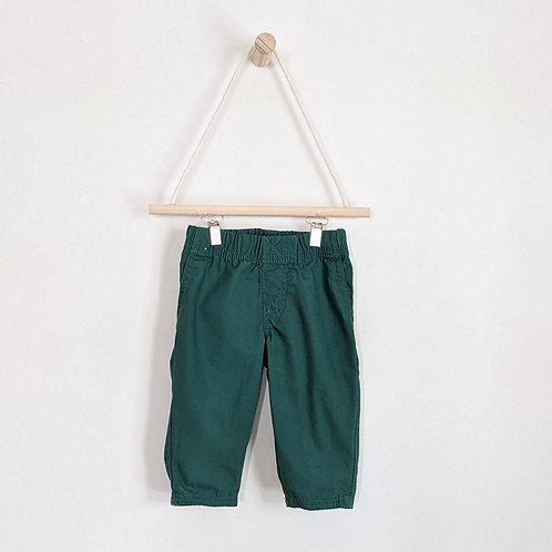 Carter's Green Khakis (6m)