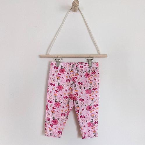 Baby Mode Floral Leggings (6-9M)