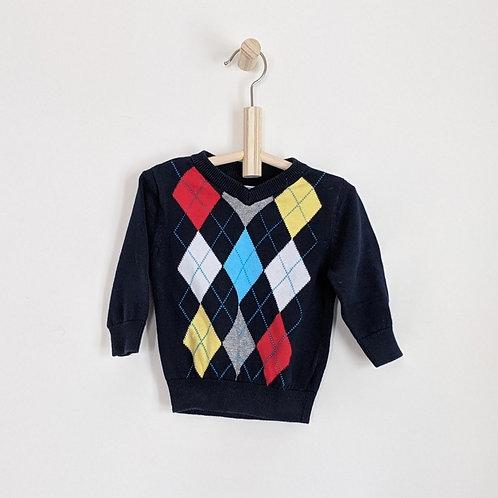 Children's Place Argyle Sweater (9-12m)