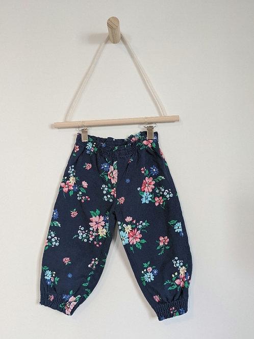 Carter's Floral Cotton Pants (18M)
