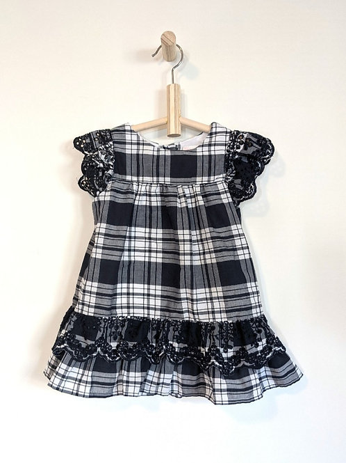 Youngland Checkered Dress (3T)