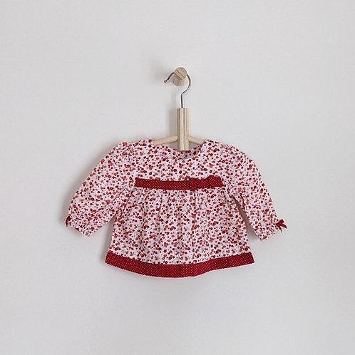 Gymboree Flower Shirt/Dress (3-6m)