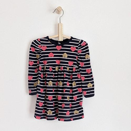 Gap Long Sleeve Peplum Dress (12-18m)