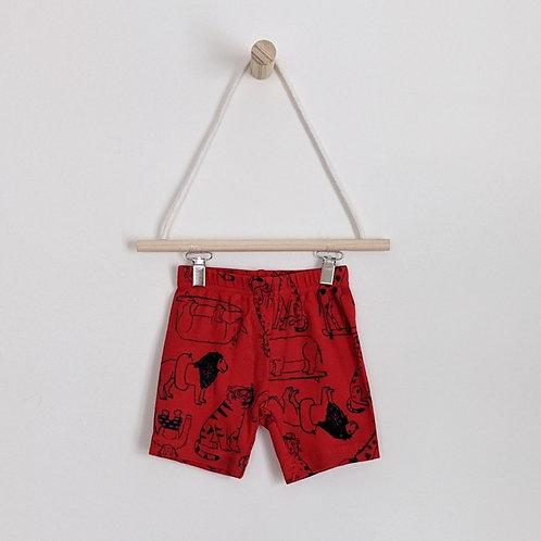 Carter's Animal Print Shorts (12m)