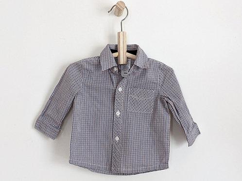 Guess Plaid Shirt (6-9m)