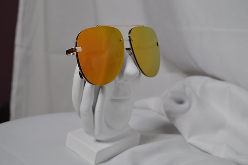 Oversized Mirror Aviators