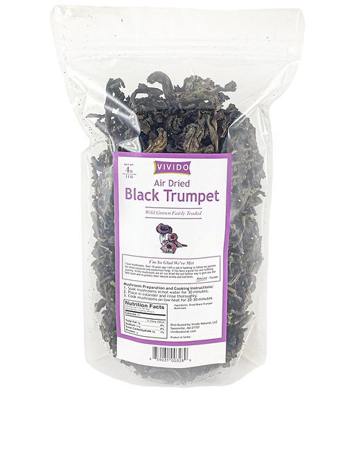 Bulk Black Trumpet Mushroom - 4 OZ