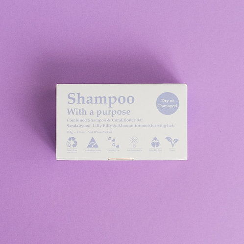 Dry Or Damaged Shampoo/Conditioner Bar
