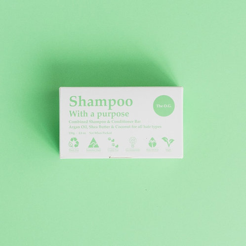 The O.G. (Normal Hair) Shampoo/Conditioner Bar