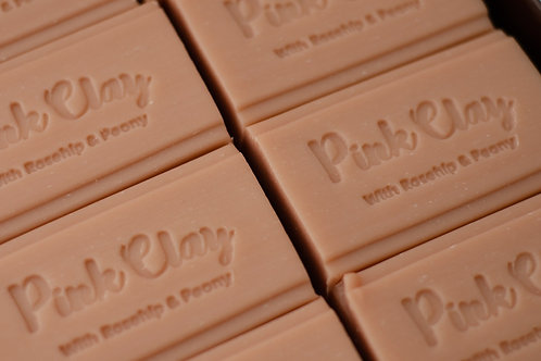 Pink Clay Soap 150g
