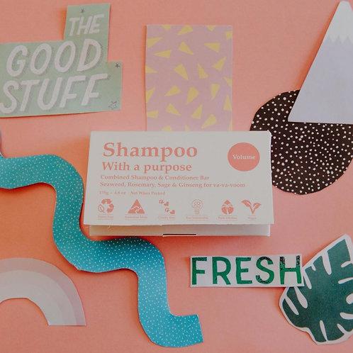 Volume Shampoo/Conditioner Bar