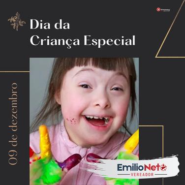 09 de Dezembro | Dia da criança especial