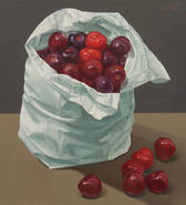 10.5x11.5 inches Oil on Masonite Panel SOLD