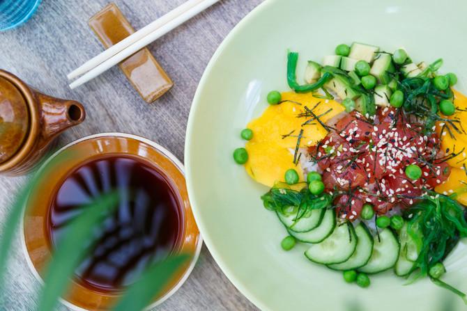 новинка — poke sushi в have a nice day