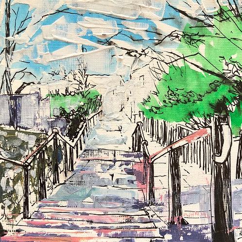 Leigh Steps by Susan Allen