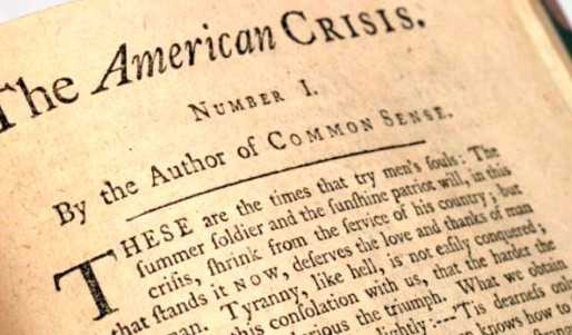 The American Crisis - 1776 and 2020