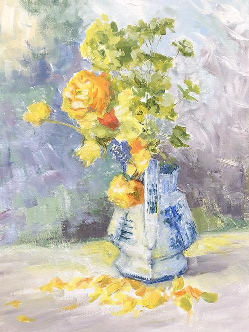 Still Lfe with Sunlight by Susan Allen