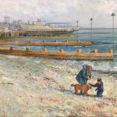 Leigh Beach Winter