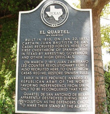 The Fight for Liberty in Texas Did Not Begin in 1835