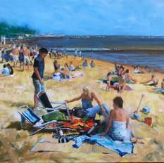 Leigh Beach Summertime