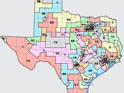 First Look at Texas House Redistricting