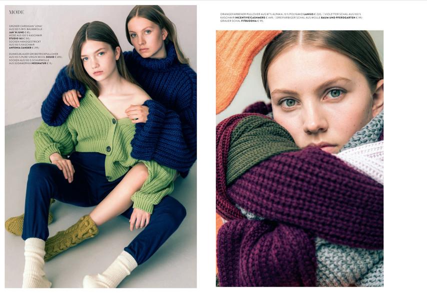 Photography Johanna Link / Styling Trang Cao / H&M Lena Gehrig/ Fogs Mag