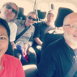 Hello from the road to #Oslo #norway _#triggergospel
