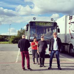 The Turbuss #triggergospel in #norway