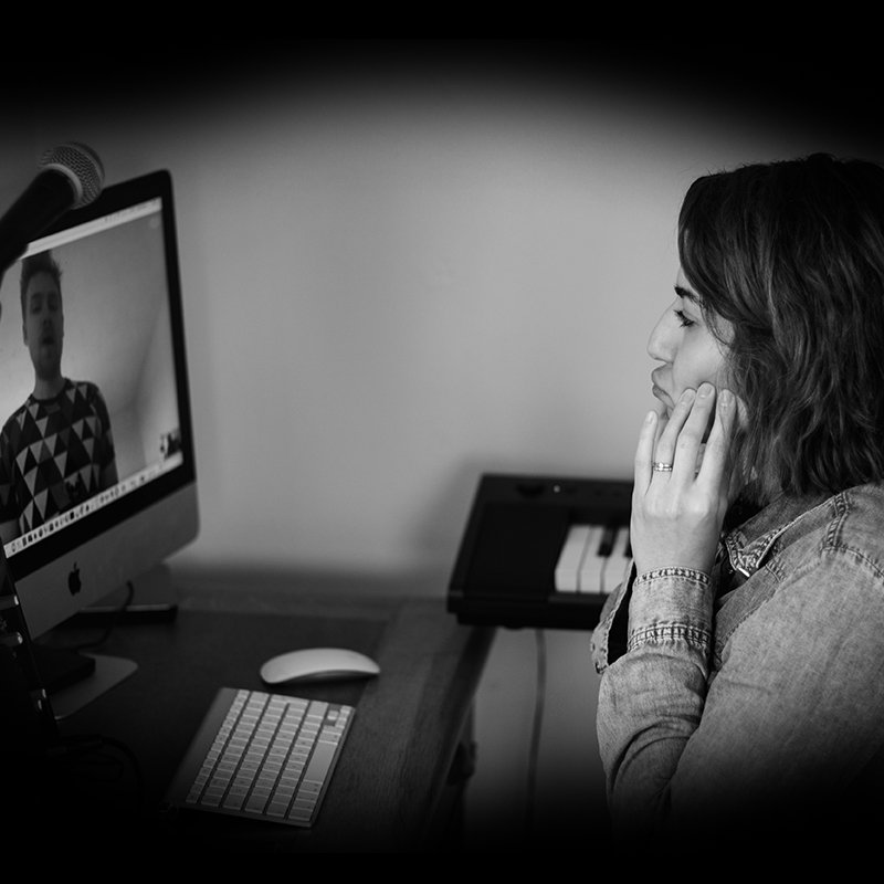 40 Minute Online Vocal Lesson
