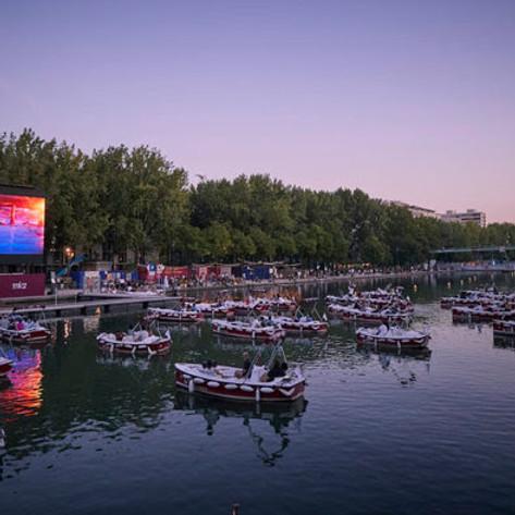 Boat In Movie Night