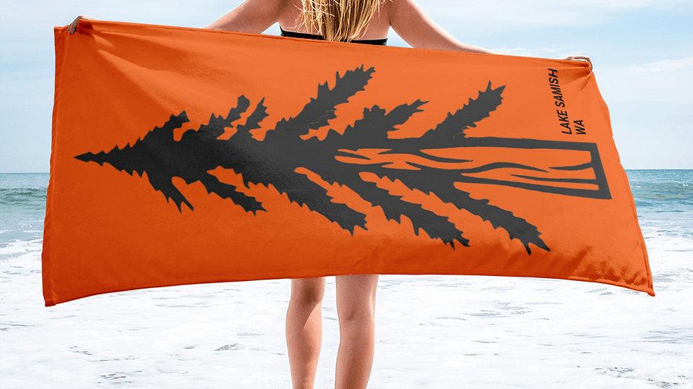 Lake Samish Towel