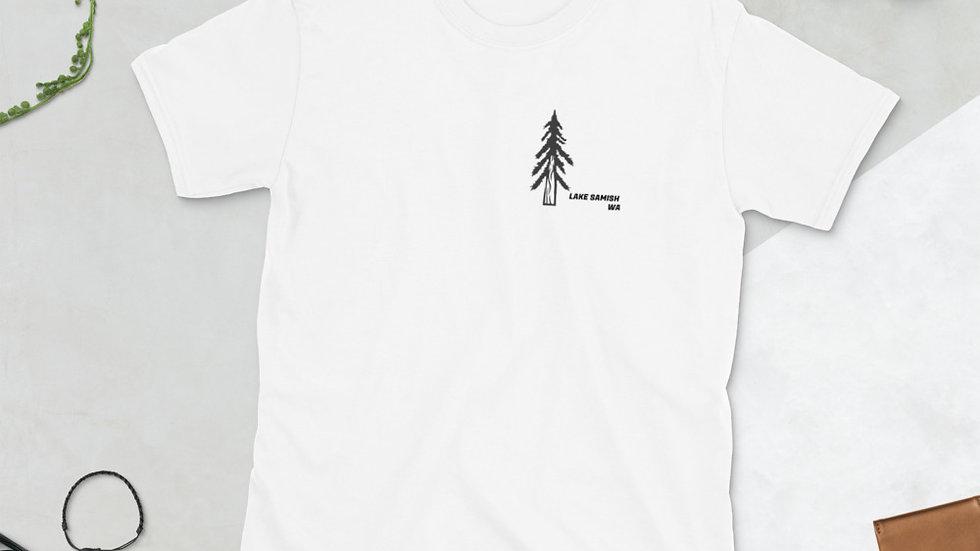LAKE SAMISH Short-Sleeve Unisex T-Shirt