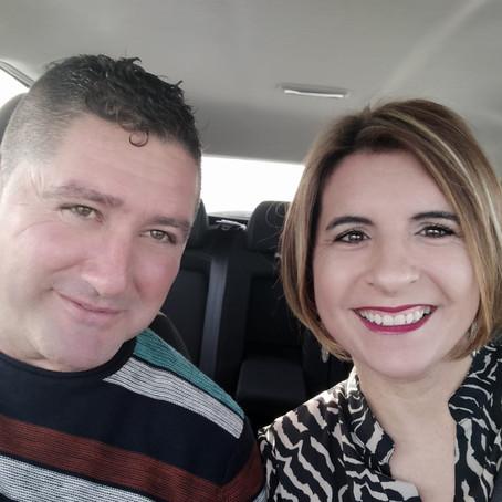Laura García y Julián Ruz.