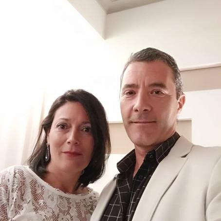 Lisandro Etcheverry y Natalia Zeballos.