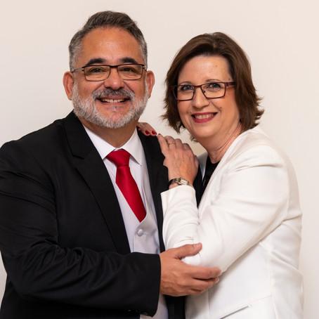 Emilio Aragón y María José Galiana