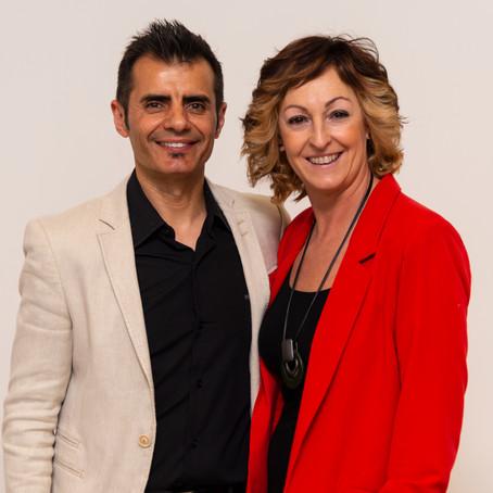 Victor Galindo y Ana Gutiérrez