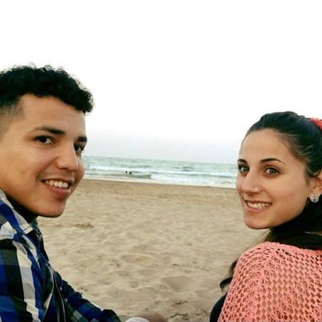 Andrés Sevilla y Elisabet Pérez.