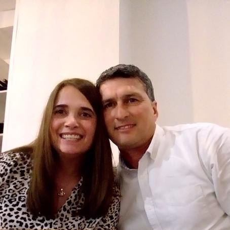 Marian Balero y Marcelo Jové.