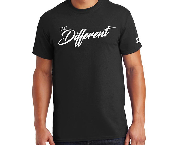 BE DIFFERENT TEE (CUSTOMIZE)