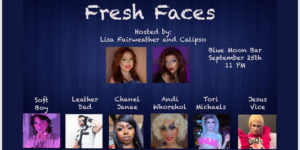 Fresh Faces - Hosted by Lisa Fairweather and Calipso.